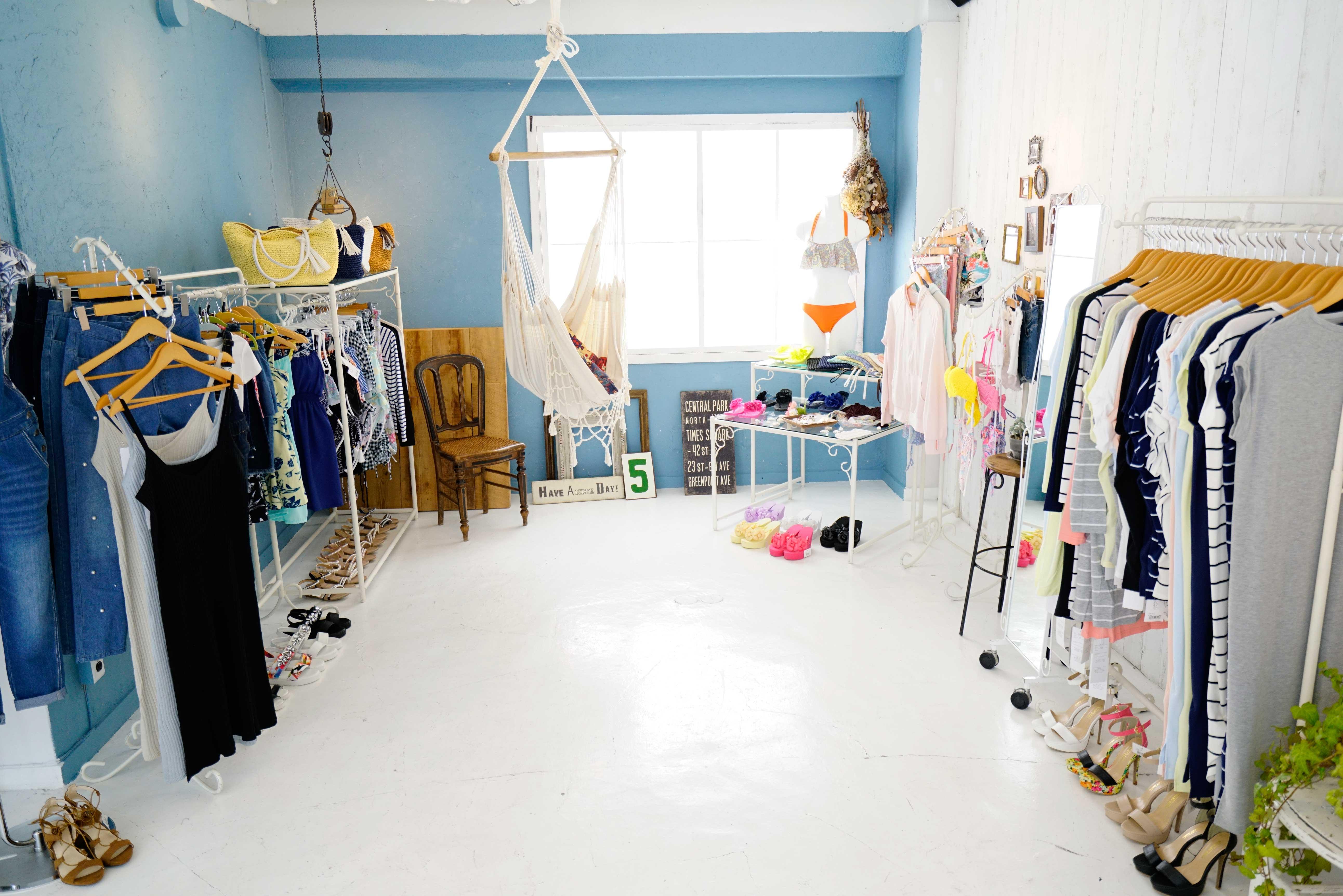 人気ファッションブランドの展示会