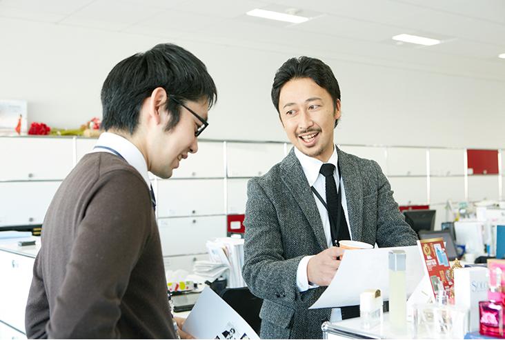 営業職から未来に向けて成長できる会社