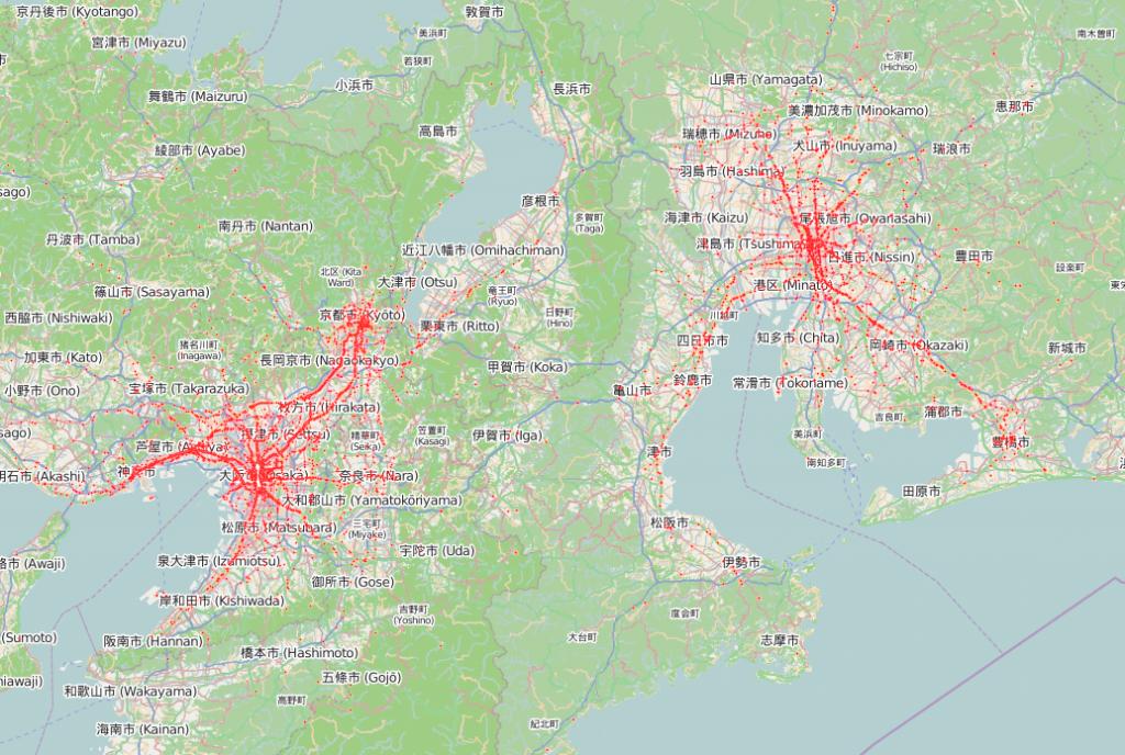 日本で唯一!? 位置情報特化のソーシャルメディア解析企業