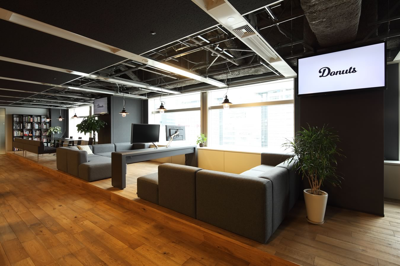 就業しやすい環境作りを目指しています!ドラマ撮影にも使われた快適なオフィス★