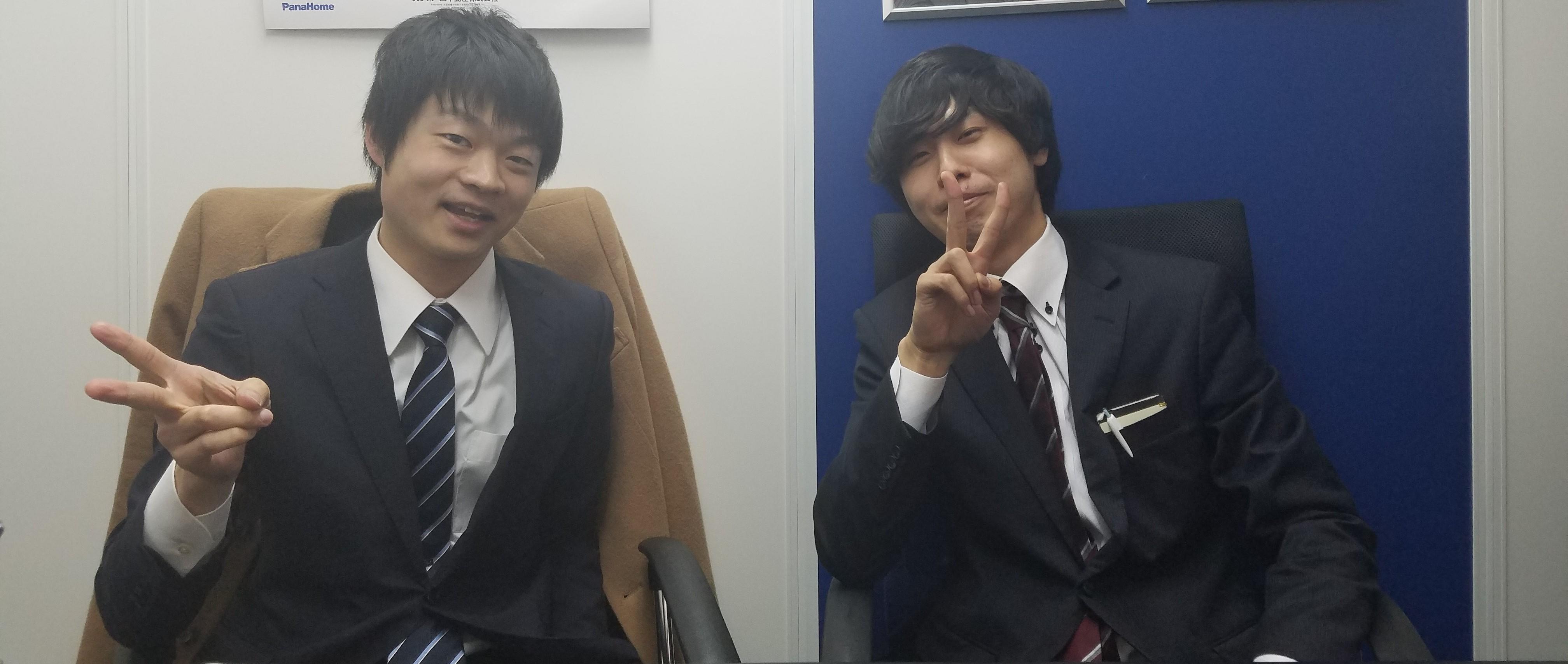 弊社でのインターンを卒業した田中さん、Kさんにインタビューをしました!
