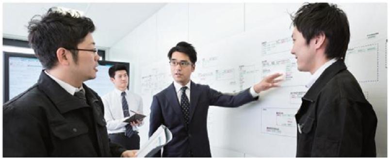 製造業の大手メーカーや金融/保険業の大手企業が主なクライアント