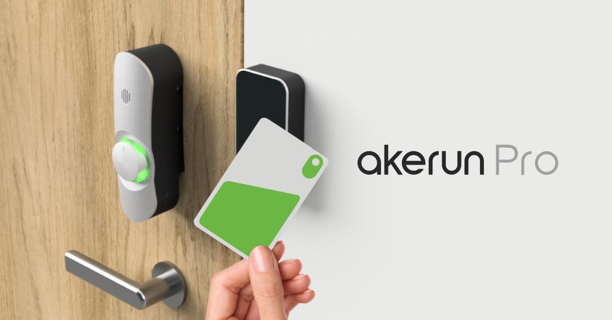 """【メディア掲載多数!】IoTスマートロック""""Akerun"""""""