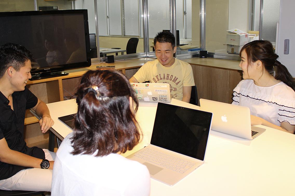 インターン生同士の勉強会を開催!