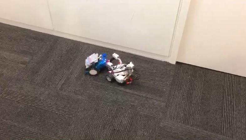 2.ロボット向けソフトウエアの開発プロジェクト(社内ベンチャー)