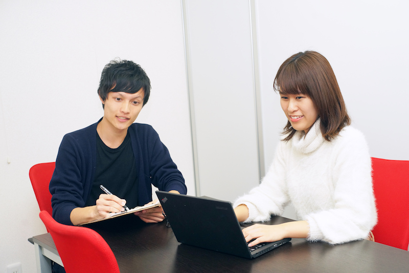 少数精鋭で代表との距離も近いので起業志向の学生にもおすすめ!