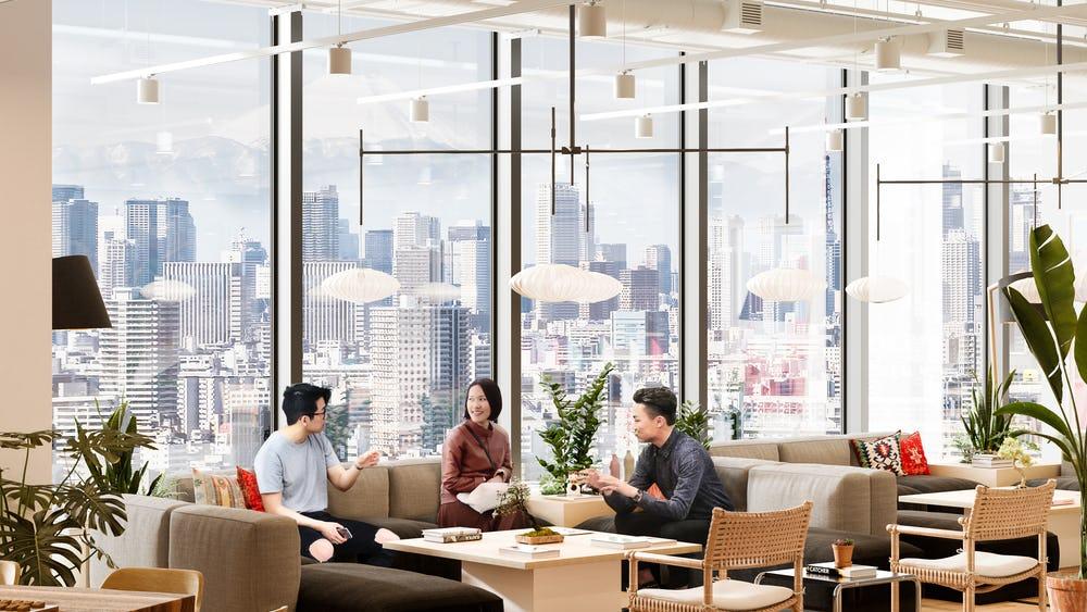 2020年、最先端の情報、ヒトが行き交う、今日本で最も注目されてる渋谷スクランブルスクエアで働こう!