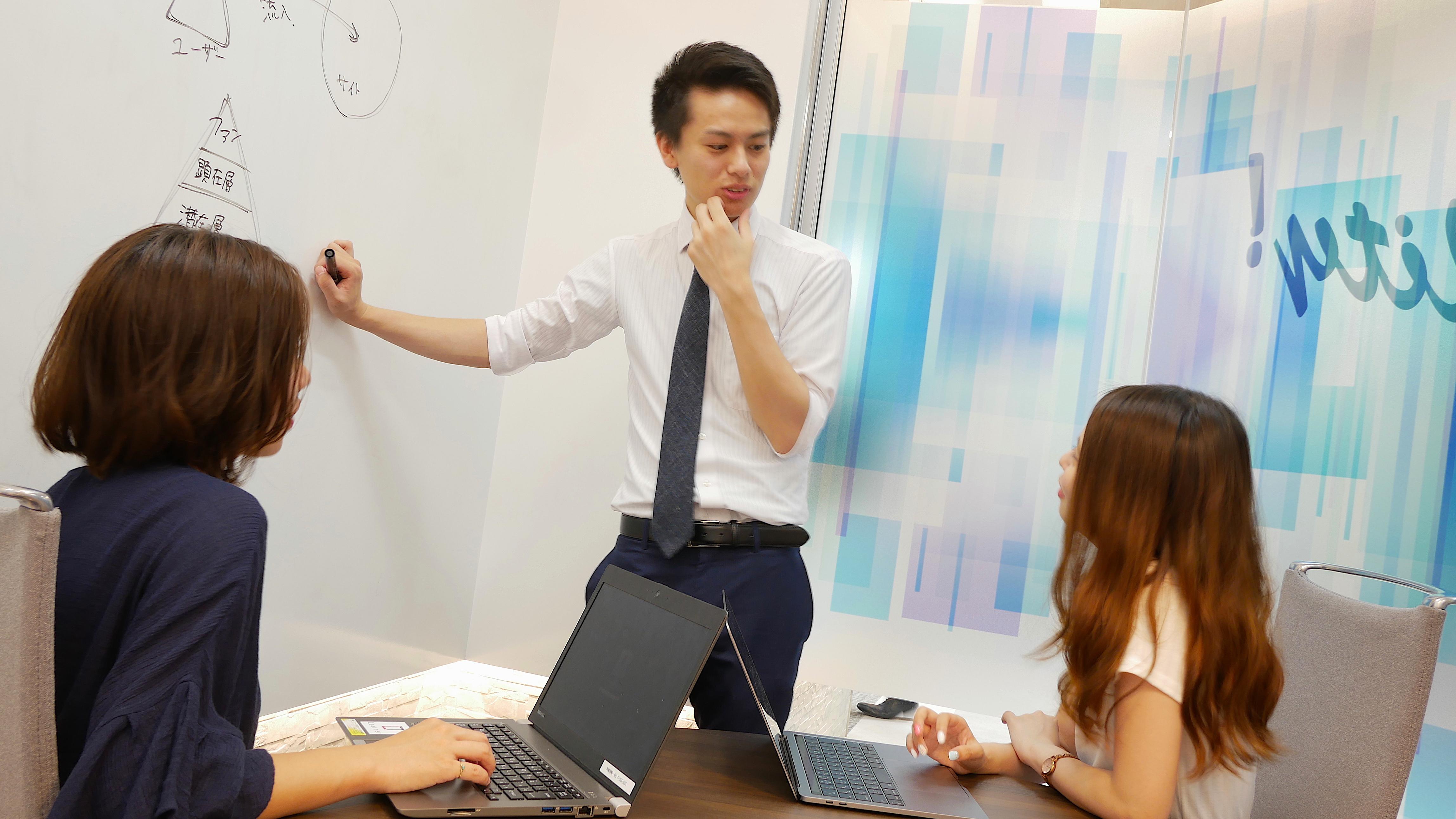 <東証一部上場企業の良さ×ベンチャー企業の良さ>両方がある環境です!