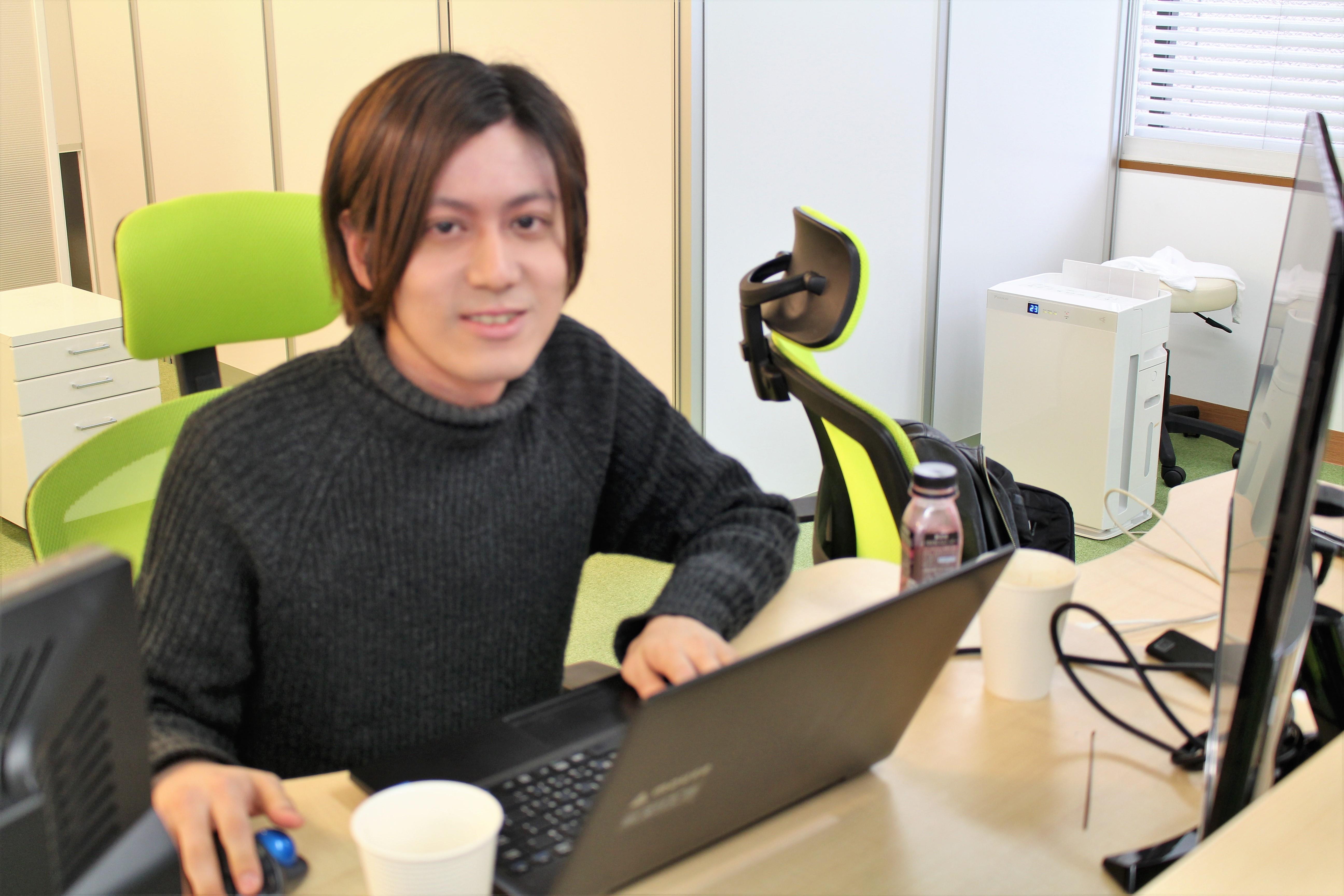 【インタビュー1】22歳/メディア事業部リーダー