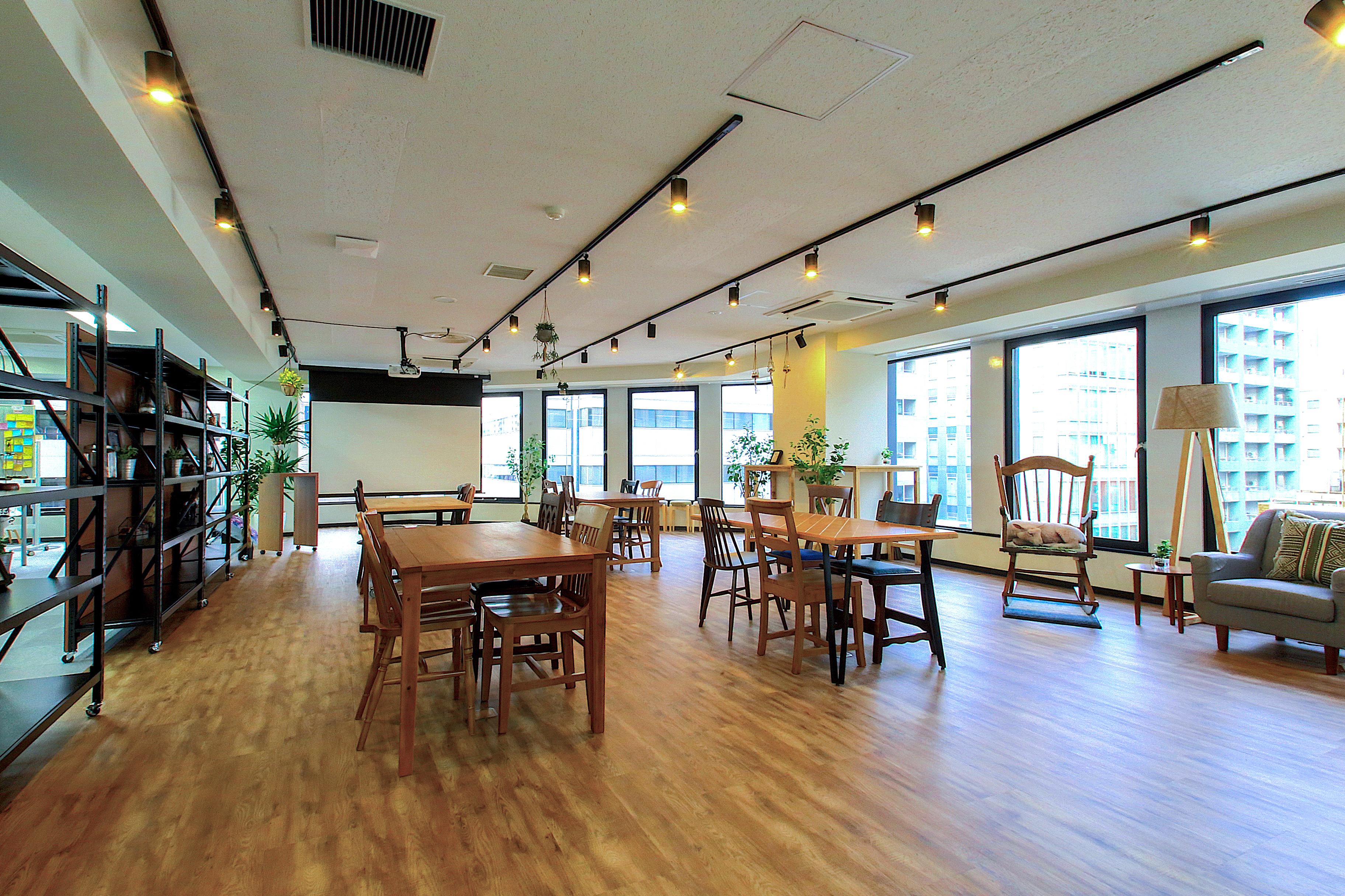 社内風景、イベントスペース